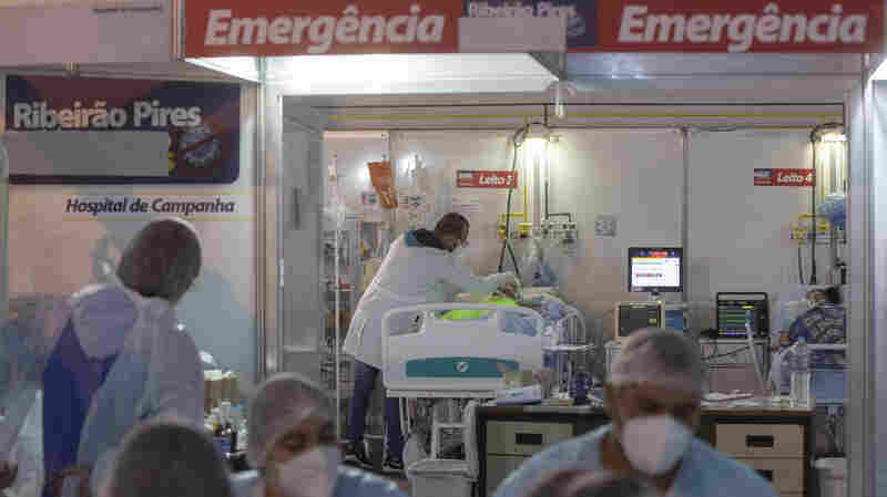 Brazil COVID-19: 'Humanitarian Crisis' With More Than 3,000 Deaths A Day