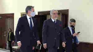 Blinken Visits Afghanistan After Biden Announces Troop Withdrawal