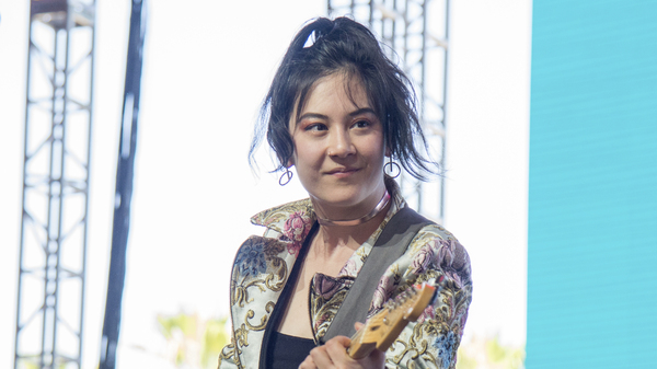 Japanese Breakfast performs at the Coachella Music & Arts Festival at the Empire Polo Club on April 22, 2018, in Indio, Calif.