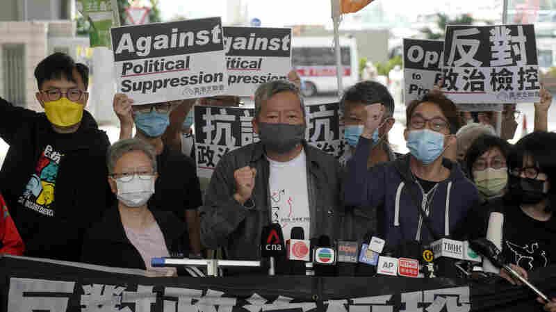9 Hong Kong Pro-Democracy Activists Sentenced For 2019 Protests