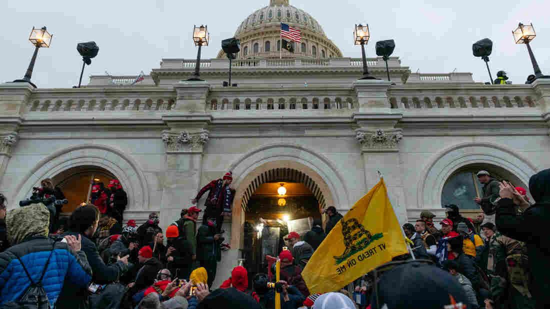 Oath Keepers Member Is 1st To Plead Guilty In Capitol Riot Investigation