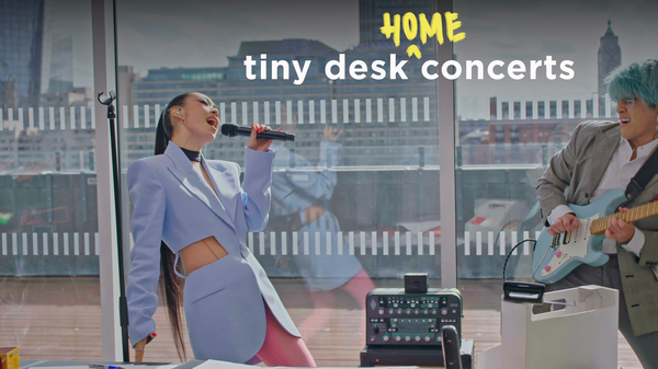 Rina Sawayama performs a Tiny Desk (home) concert.
