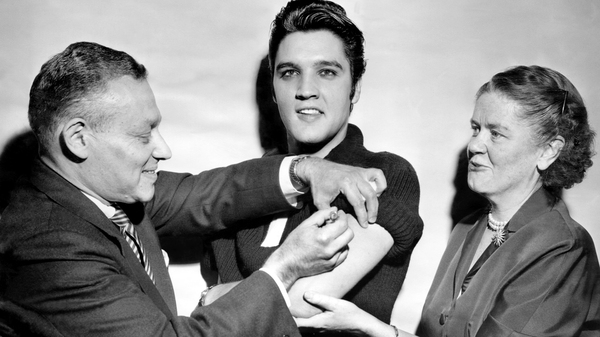 Elvis Presley got his polio vaccination from Dr. Harold Fuerst and Dr. Leona Baumgartner at CBS