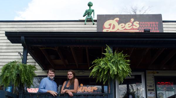 Daniel Walker and Amy Dee Richardson, owners of Dee