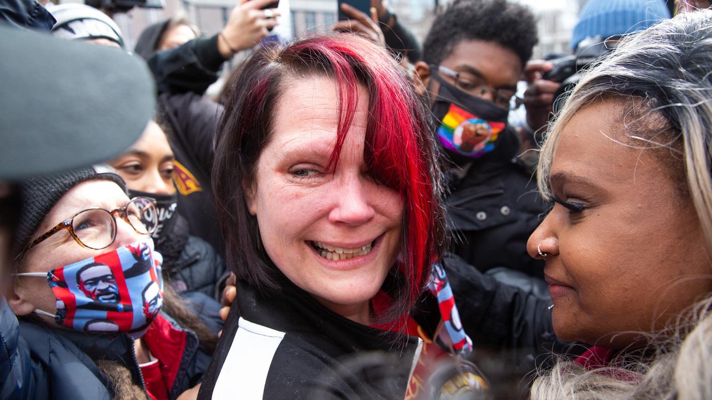 PHOTOS: Reaction To The Derek Chauvin Verdict : The ...