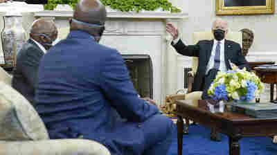 Looming Chauvin Verdict Will Test Biden's Leadership On Race