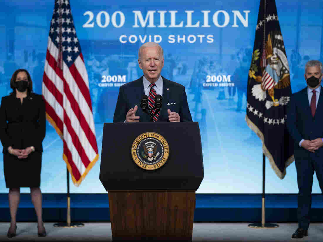 Biden set to deliver speech on coronavirus vaccination efforts