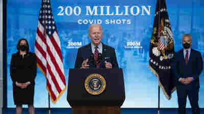 Biden Says Goal Of 200 Million COVID-19 Vaccinations In 100 Days Has Been Met