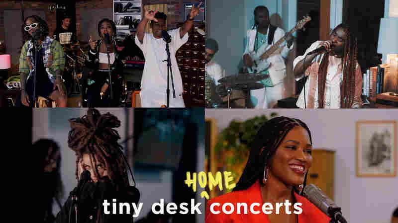 Tiny Desk Meets AFROPUNK: ChocQuibTown, NENNY, Luedji Luna, Calma Carmona