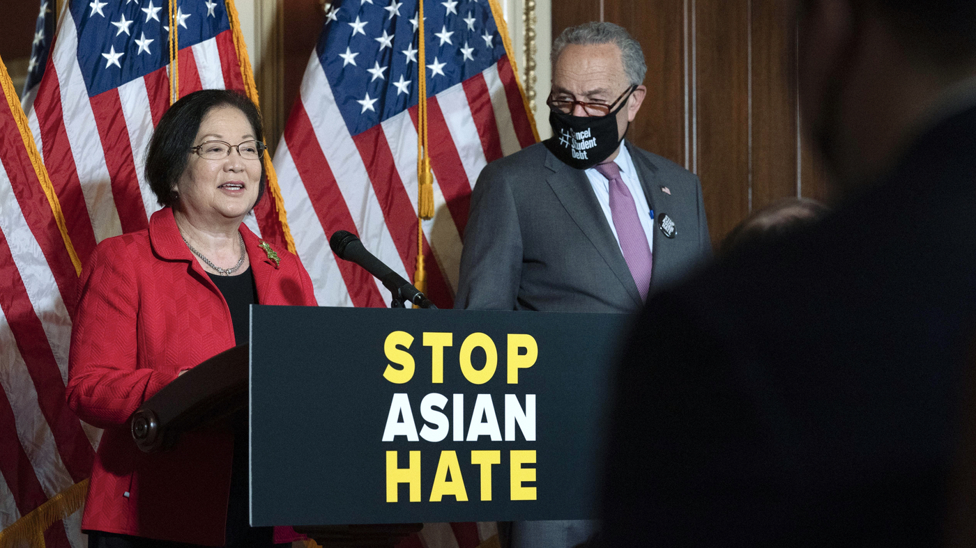 www.npr.org: In Rare Moment Of Bipartisan Unity, Senate Approves Asian American Hate Crimes Bill