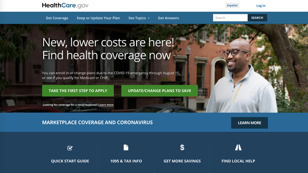 The Biden administration has opened up enrollment on all Affordable Care Act marketplaces, including on the federal insurance exchange, Healthcare.gov, until August. Many people will qualify for better or less expensive plans — or both.