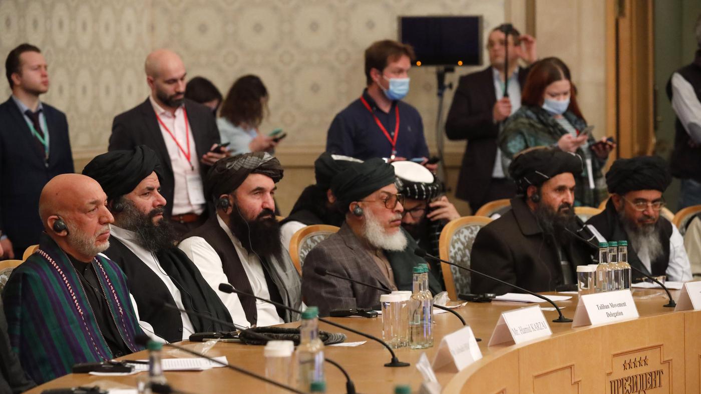U.S. Unconditional Withdrawal Rattles Afghanistan's Shaky Peace Talks – NPR