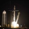 El cohete SpaceX se lanza con astronautas a bordo