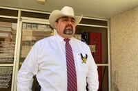 Zapata County Sheriff Raymundo Del Bosque says they used to have one car chase and bailout of unauthorized immigrants a week; now they have one a day.