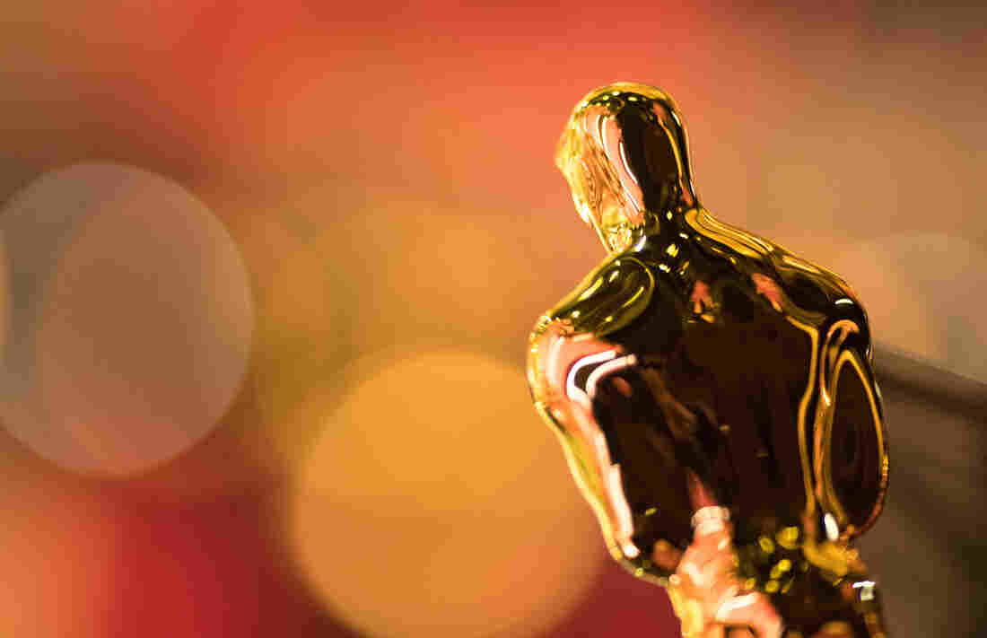 The Oscar statuette is seen backstage during the 89th Annual Academy Awards on Feb. 26, 2017 in Hollywood, Calif.