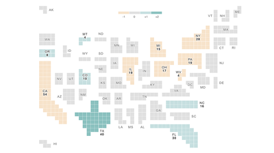 New Census Numbers Mean A Political Power Shift For Some States