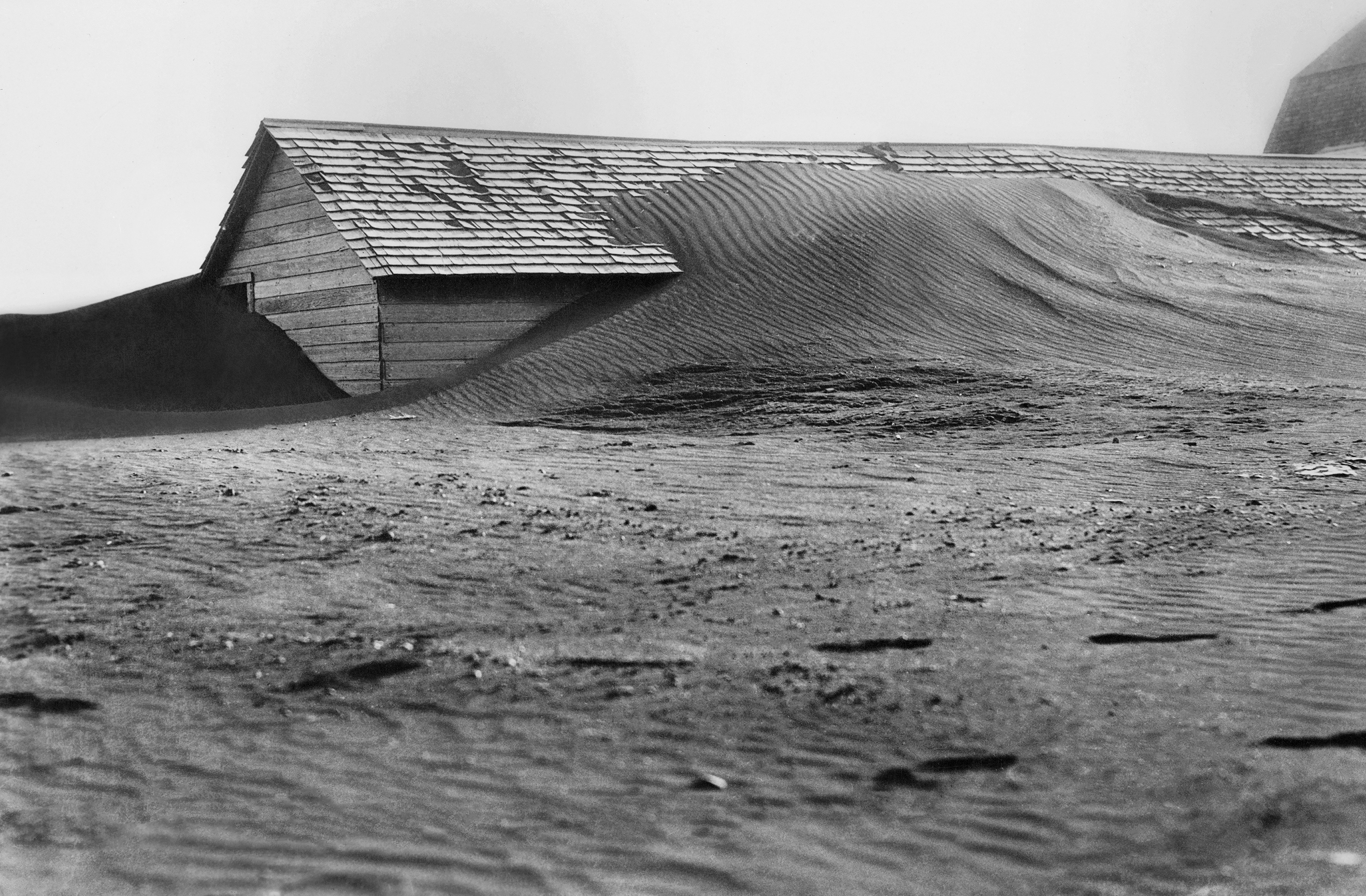 South Dakota was one of the places that saw severe soil erosion from wind during the Dust Bowl of the 1930s. (Universal History Archive/Universal Images Group via Getty Images)