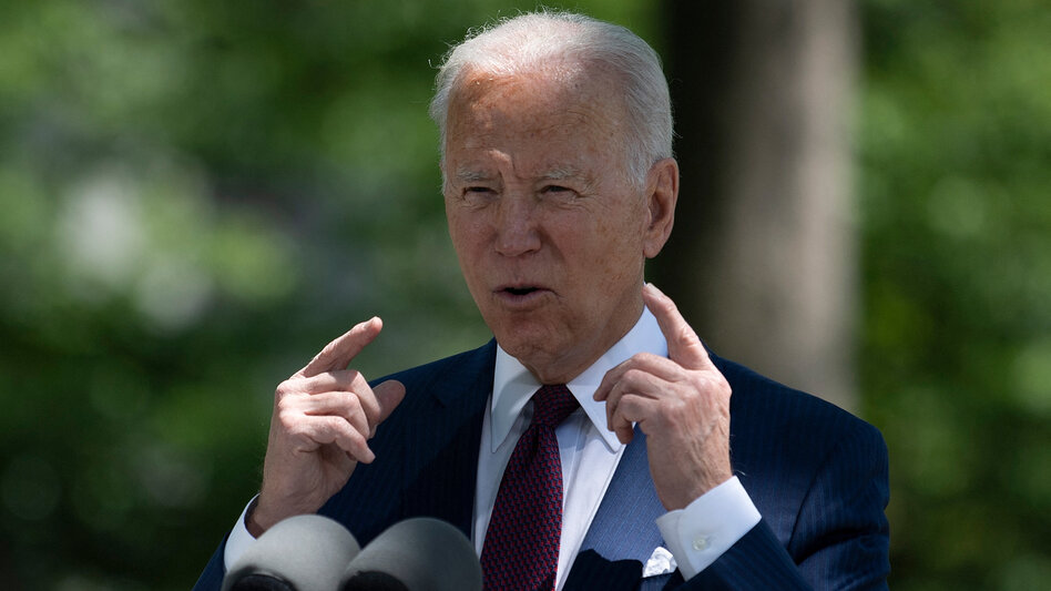 President Biden is set to unveil a sweeping package of spending and tax reforms Wednesday. (Brendan Smialowski/AFP via Getty Images)