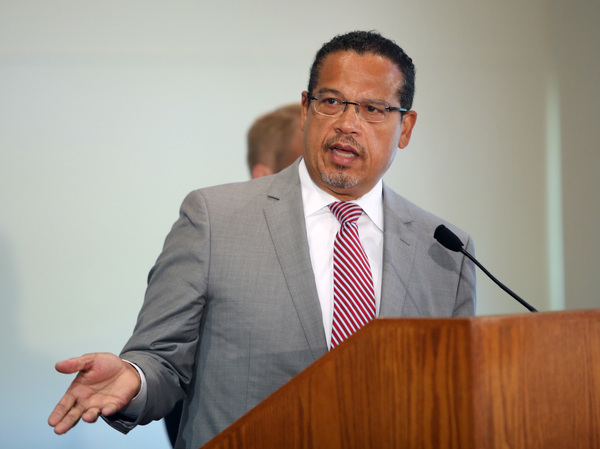 Minnesota Attorney General Keith Ellison prosecuted former officer Derek Chauvin, who was convicted on April 20 of murdering George Floyd.