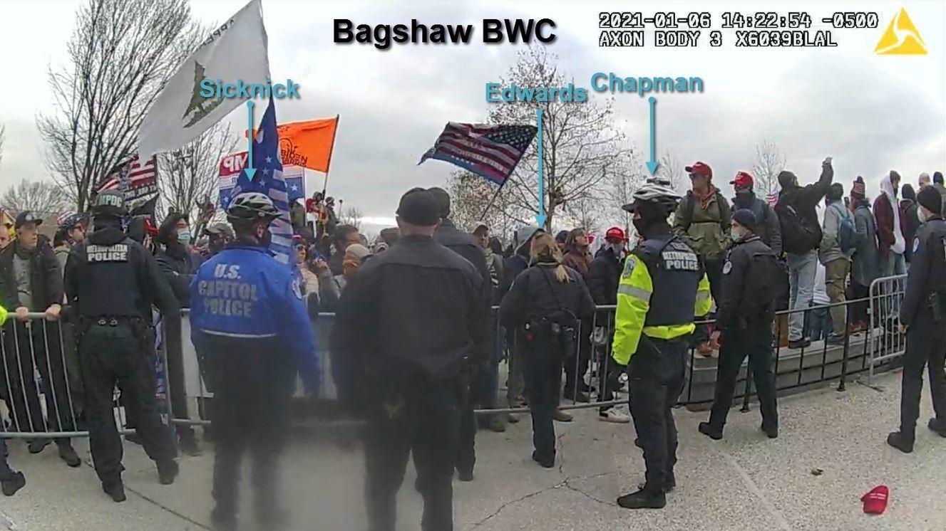 New Videos Show Alleged Assault On Officer Brian Sicknick During Capitol Riot – NPR