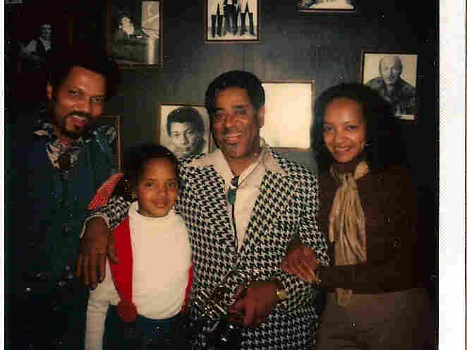Terri Lyne Carrington and her parents with Dizzy Gillespie