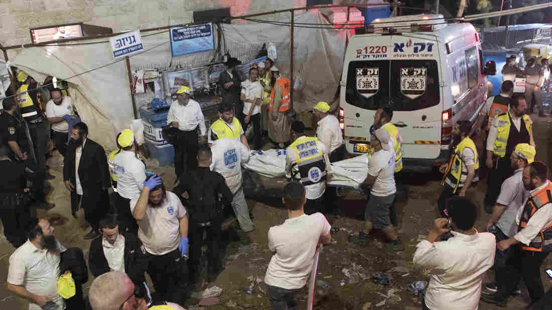 Dozens crushed to death in Lag B'Omer stampede