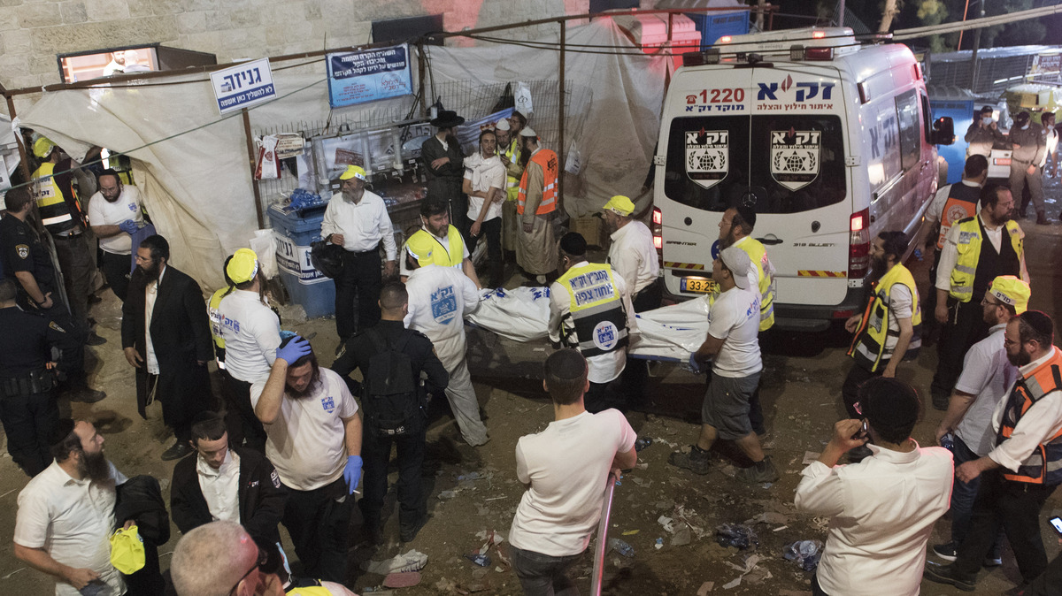 Dozens Reported Killed In Stampede At Israeli Festival