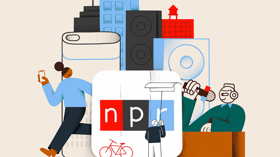On May 3, 2021, NPR turns 50 years old. To mark this milestone, we're reflecting on and renewing our commitment to <em>Hear Every Voice</em>. (Spencer Gabor)
