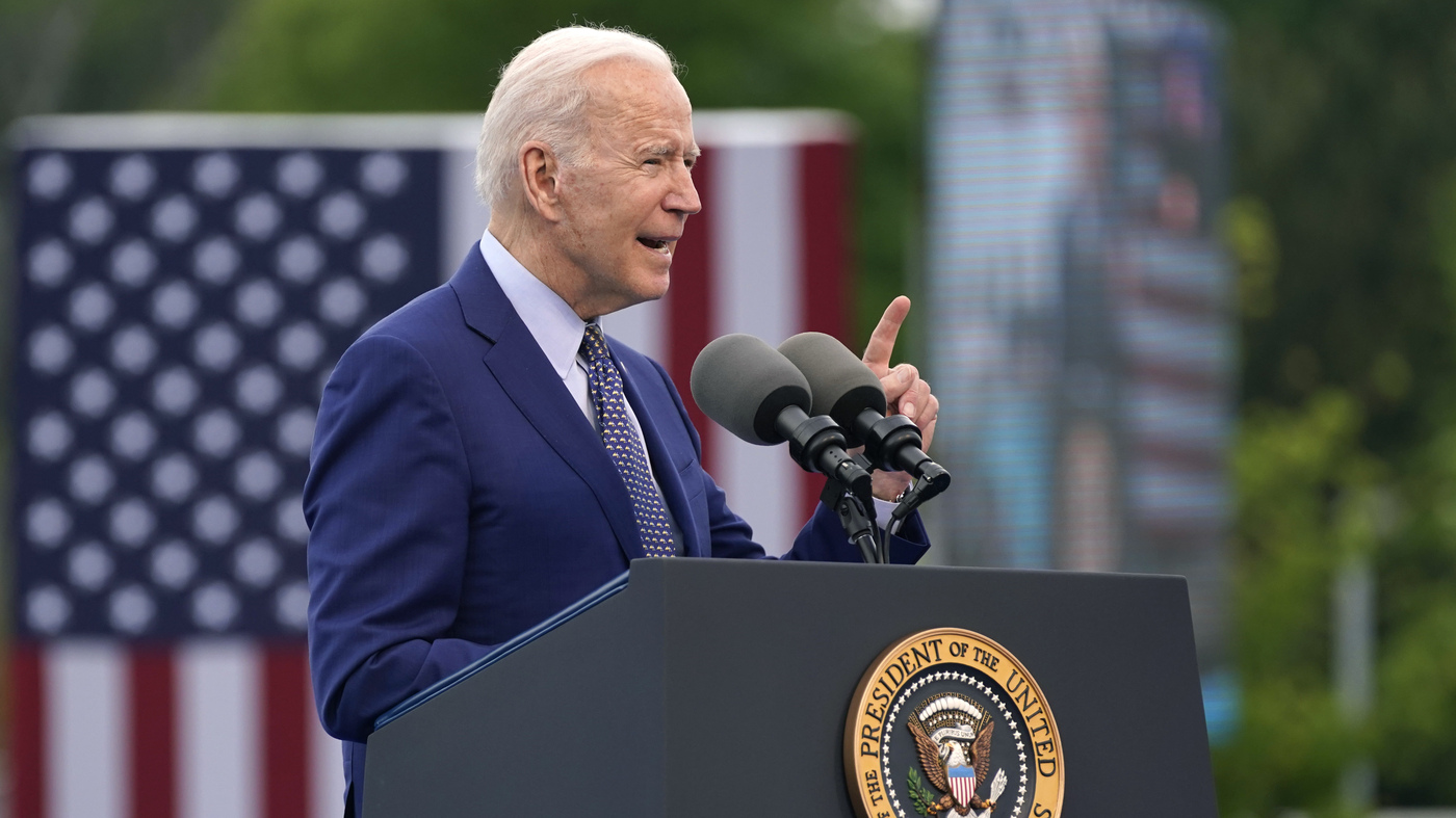 Biden Responds to Sen. Tim Scott: 'I Don't Think The American People Are Racist' – NPR