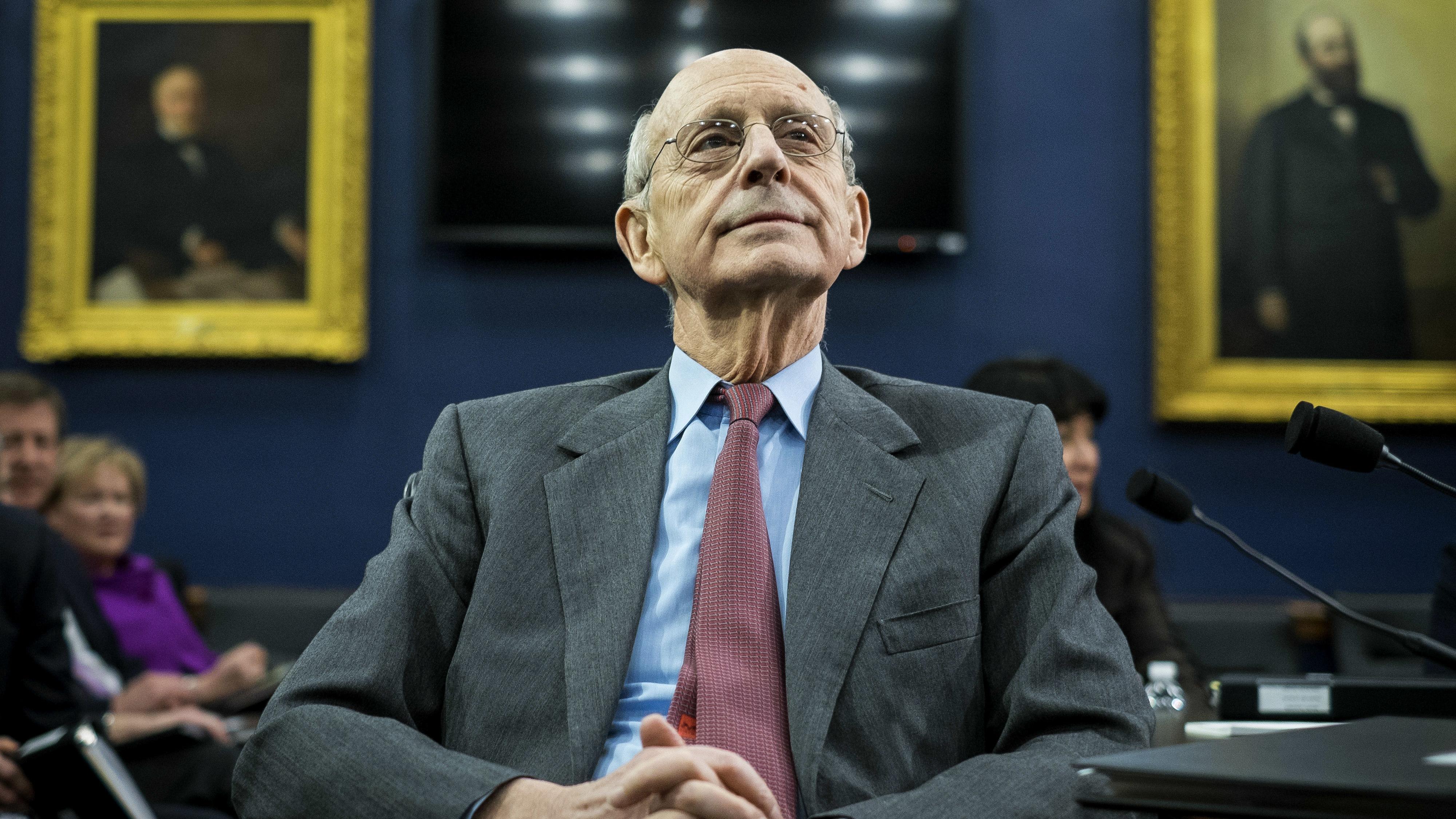 U.S. Supreme Court Justice Stephen Breyer in March 2015.
