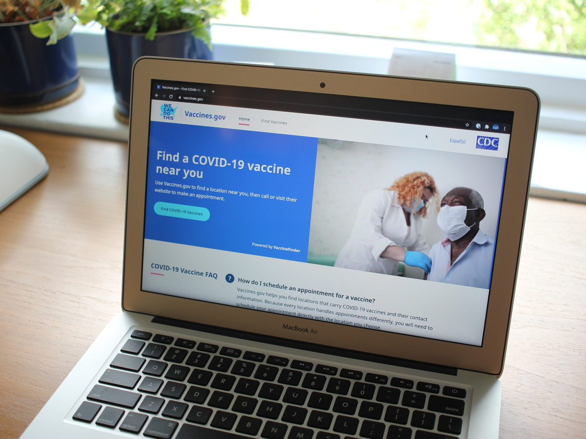 Need A COVID-19 Vaccine? Biden Admin Launches GETVAX Textline And Other Search Tools : NPR
