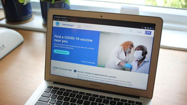 The Biden administration launched Vaccines.gov on Friday to try to help people find COVID-19 vaccines near them.