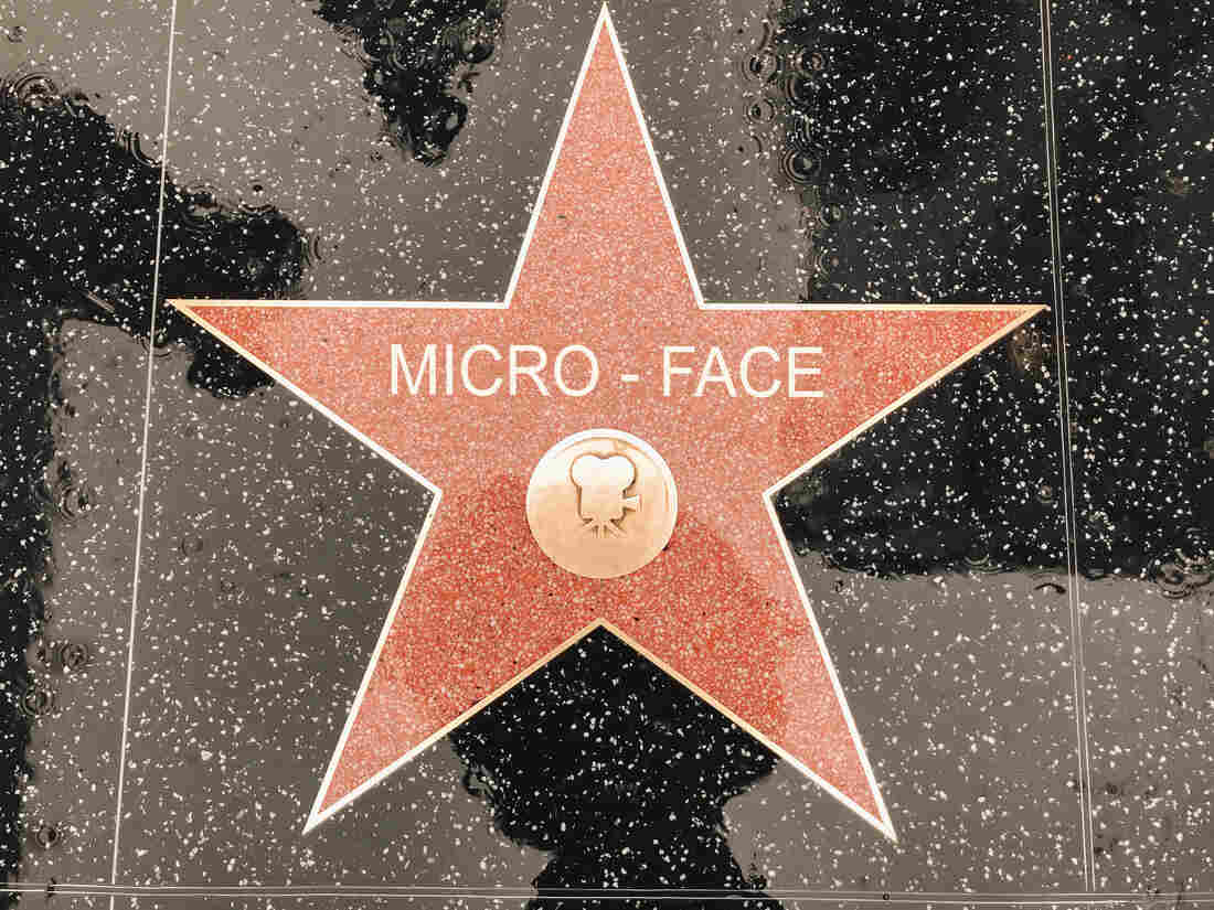 Micro-Face gets his star