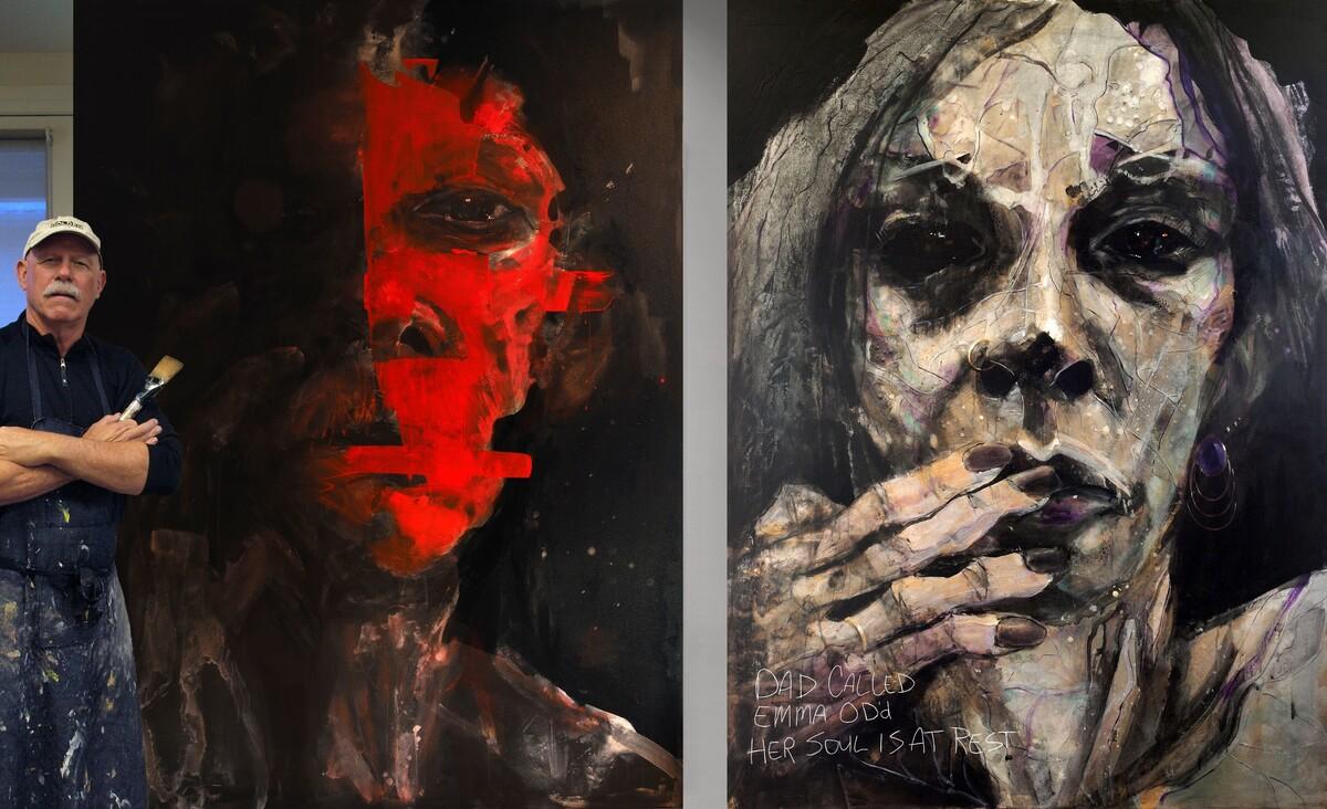 Artist William Stoehr And Dr. Nora Volkow Partner To Fight Addiction Stigma : Shots