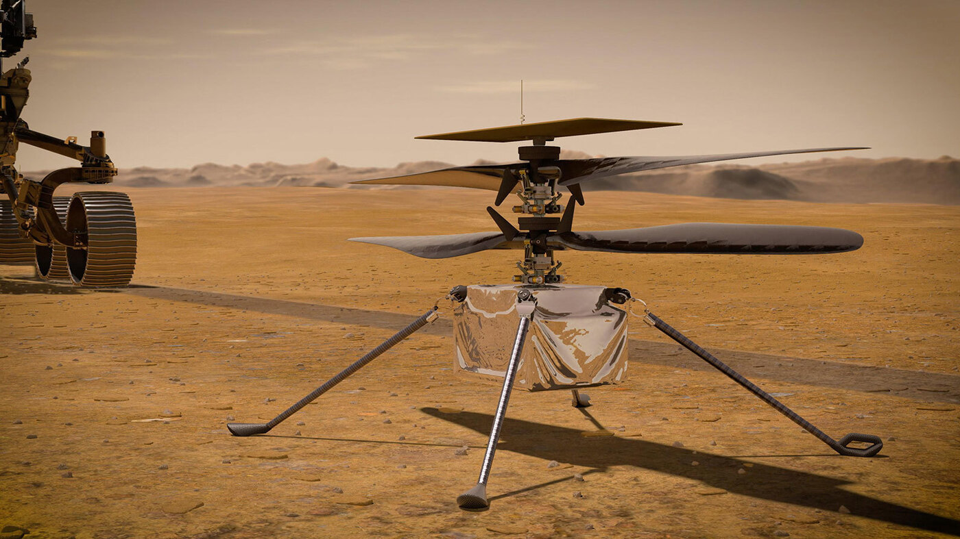 NASA Expands Plans For Helicopter On Mars – NPR