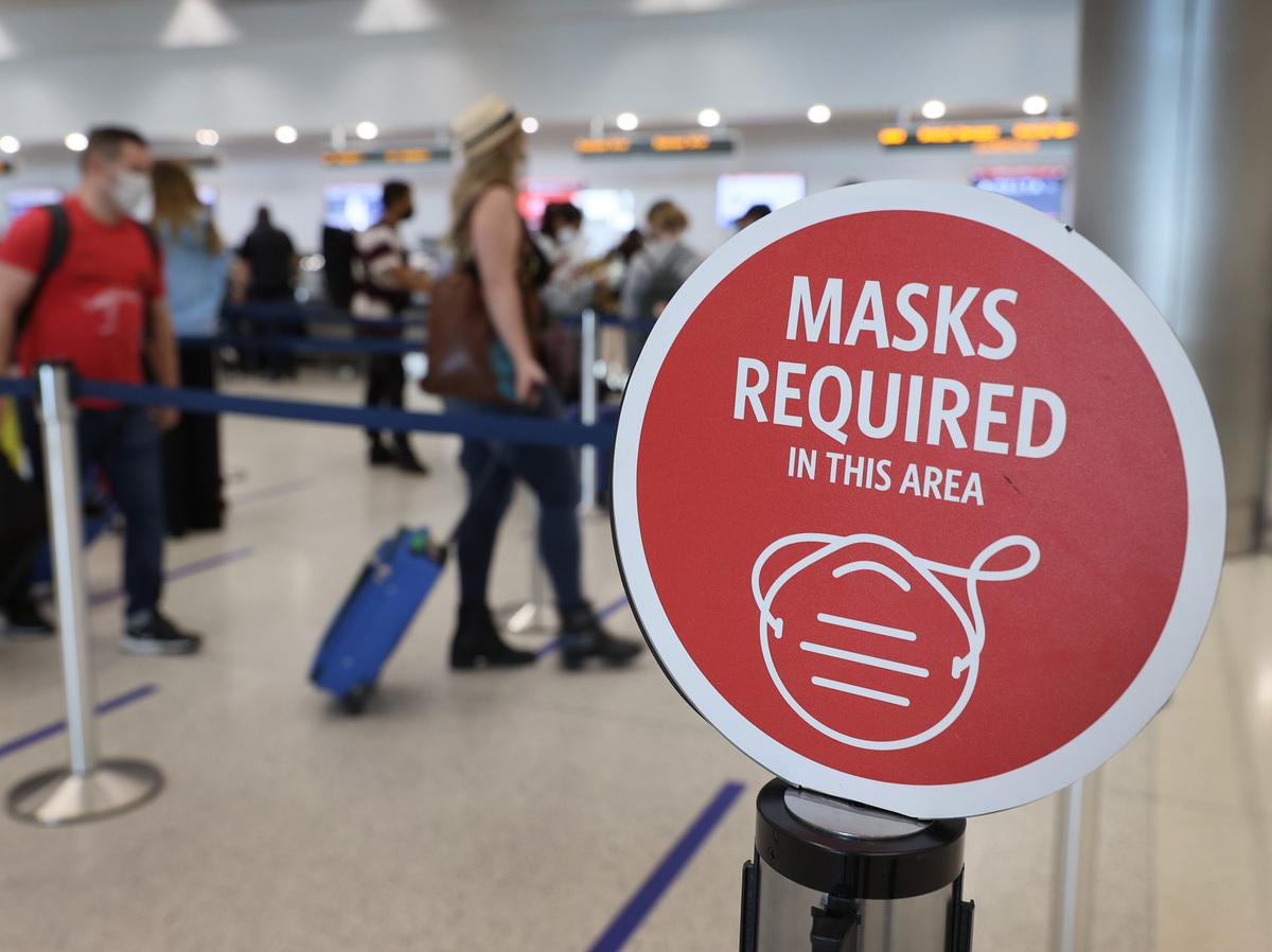 TSA Keeps Face Mask Requirement On Public Transportation Through September : Coronavirus Updates : NPR