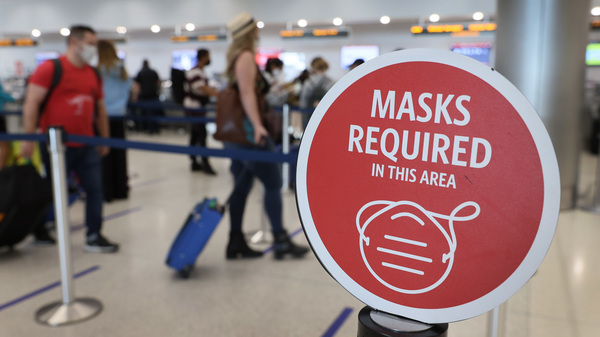 For about a year, major U.S. commercial airlines have required all passengers who are older than 2 to wear face masks on flights.
