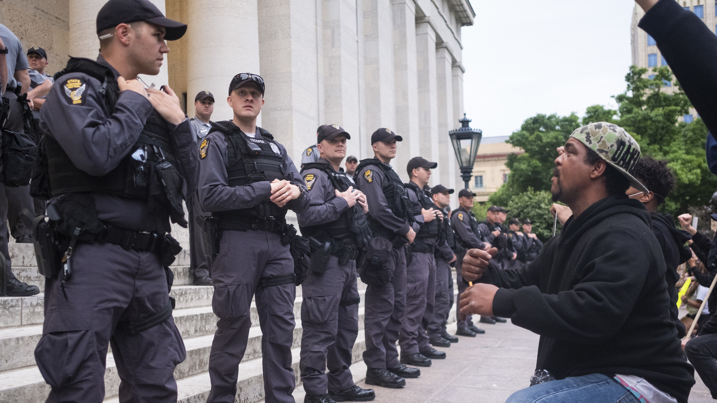 US Judge Restricts Use Of Force By Columbus Ohio Police – NPR