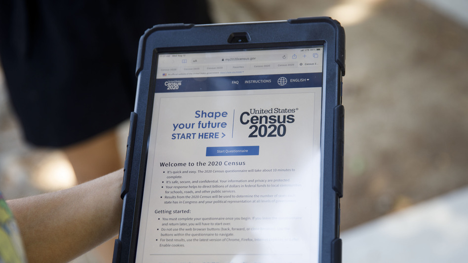 Alabama filed a federal lawsuit to force the U.S. Census Bureau to move up the release of 2020 census redistricting data and stop its plans for using a new way of keeping people's information in the data confidential. (Patrick T. Fallon/Bloomberg via Getty Images)