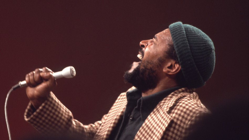 """Marvin Gaye's hit record """"What's Going On"""" encapsulates the political turmoil of 1971 while also inspiring hope for change. (Soul Train/Getty Images)"""