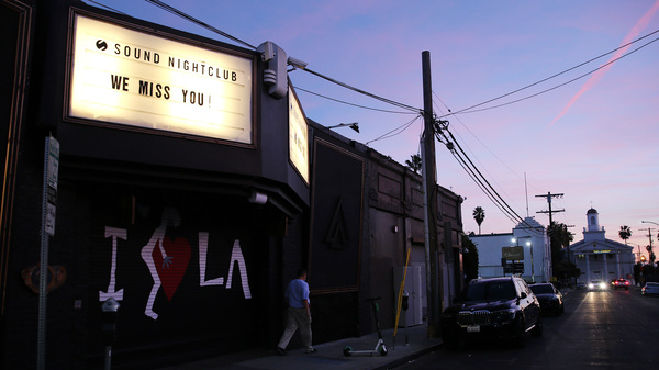 Live-event spaces, like the Sound Nightclub in Los Angeles, have been waiting months for emergency relief.
