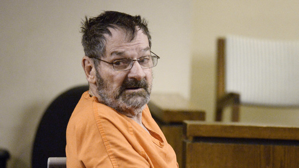 Frazier Glenn Miller, Jr., also known as Frazier Glenn Cross, in court in 2014 after he killed three people at Jewish sites in suburban Kansas City.