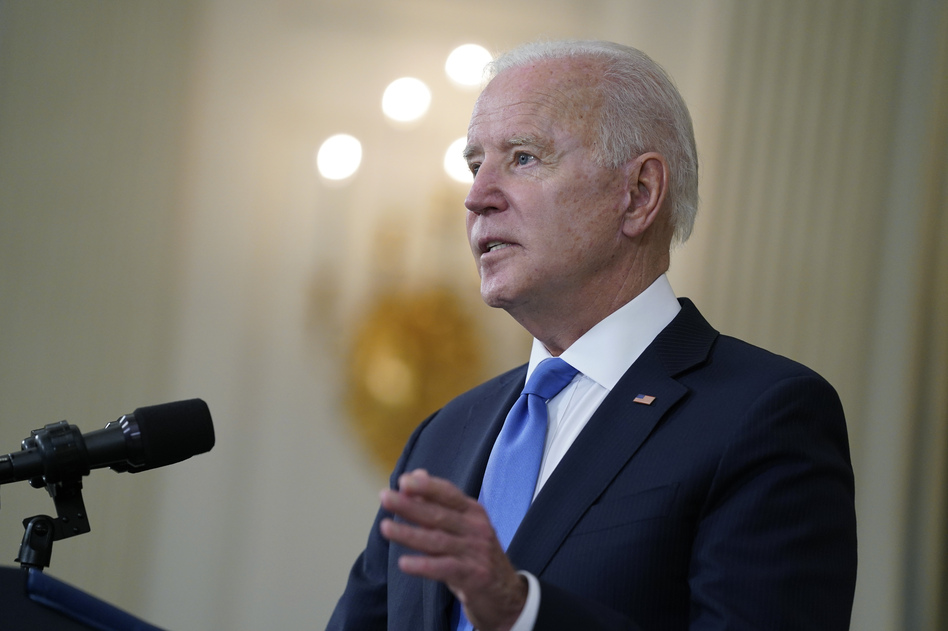 President Biden on Wednesday came out in favor of the World Trade Organization's proposed waiver of patent protections for COVID-19 vaccines.