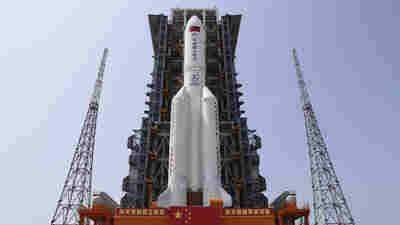 What Goes Up Must Come Down — Including A Giant Chinese Rocket Plunging Toward Earth