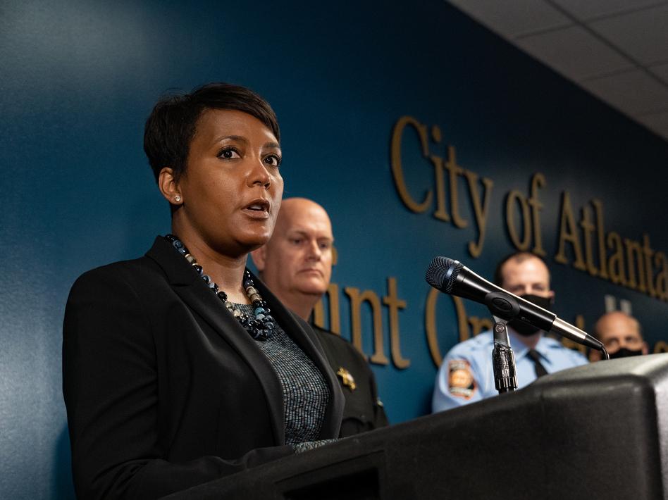 Keisha Lance Bottoms Won't Run For Reelection As Atlanta Mayor