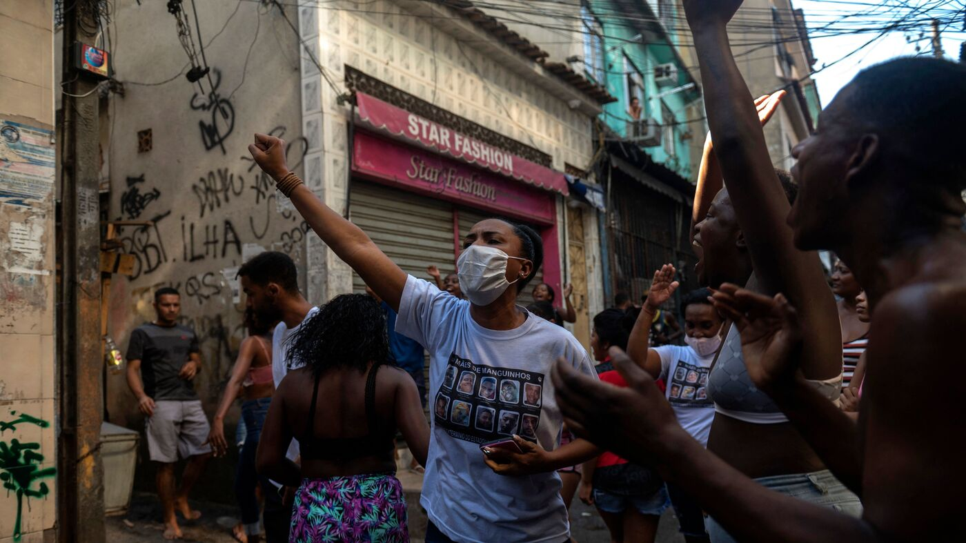 U.N. Calls For Investigation As Police In Brazil Kill At Least 24 In Rio Drug Raid