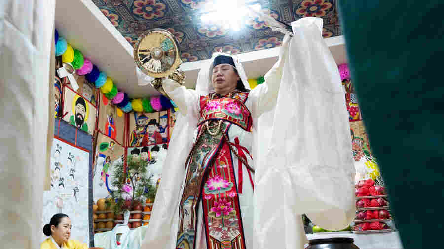 Shamanism Endures In Both Koreas — But In The North, Shamans Risk Arrest Or Worse