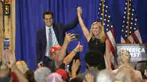 A Look At The GOP From Inside A Matt Gaetz-Marjorie Taylor Greene Rally