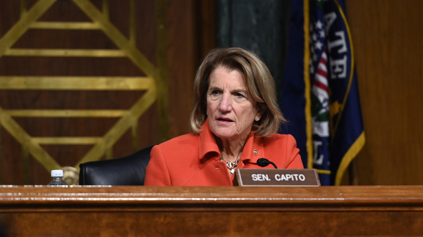 West Virginia's Shelley Moore Capito, who's leading GOP negotiating efforts on infrastructure, is one of the Republican senators set to join President Biden in the Oval Office Thursday.