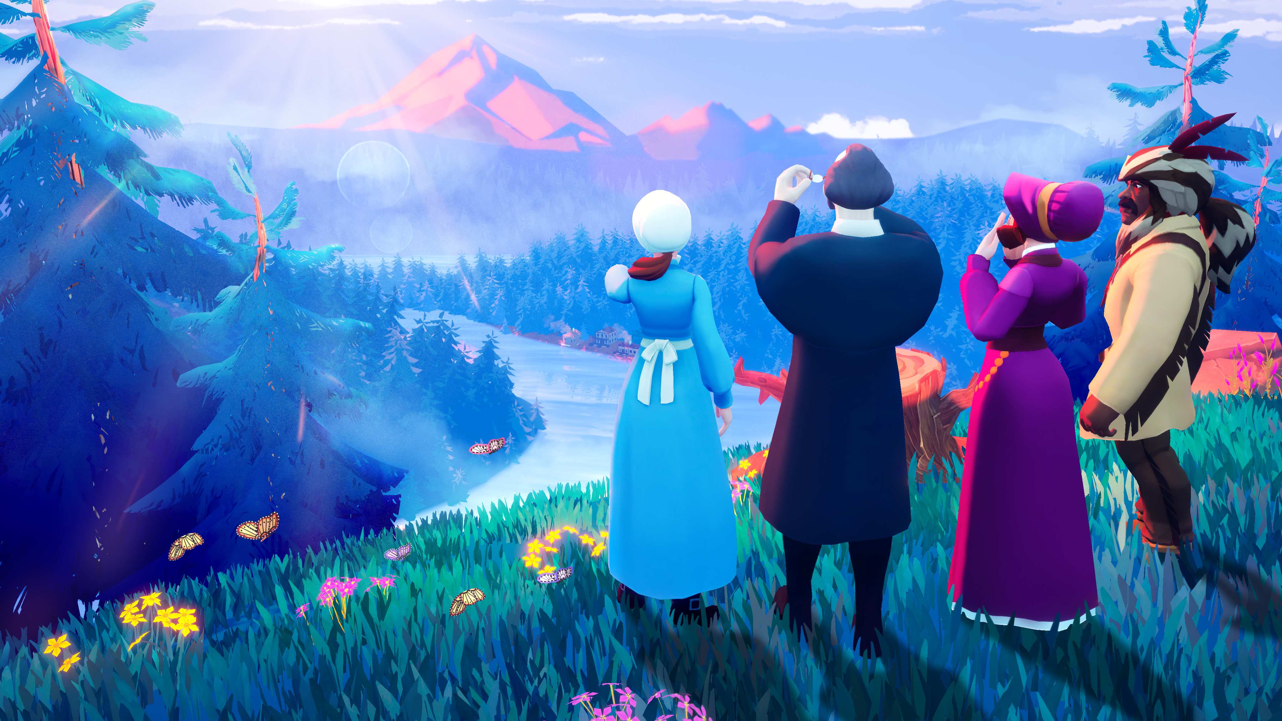 A new version of the Oregon Trail game for Apple Arcade features improved Native American representation and new playable Native American characters and storylines.